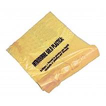 SACCO PLASTICA GIALLO GR. 50 - 70X110 - 200 PZ