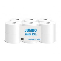 IGIENICA JUMBO MINI kg 0,50 IN PURA CELLULOSA (12 rot)